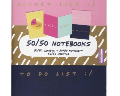 50/ 50 Schriftenset – 3 stuks