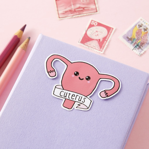 Cuterus Sticker