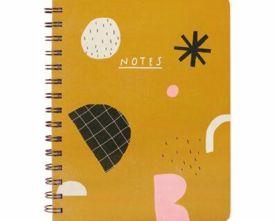Shapes Hardcover Notebook – B KEUZE